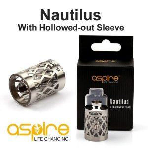 Aspire Hollowed Out Replacement Nautilus Tank