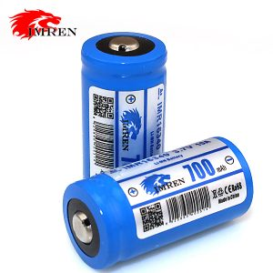 Imren 16340 700mAh Button Top