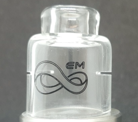 Coil Porn Glass Cap by Endless Mods UK (22mm)