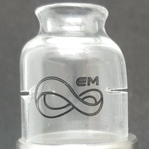 Coil Porn Glass Cap by Endless Mods UK (24mm)