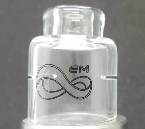 Em Coil Porn Glass Cap by Endless Mods UK (22mm)