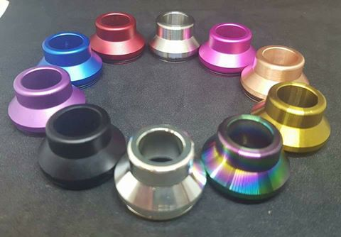 Chubby Style Chuff Caps for 24mm RDA's