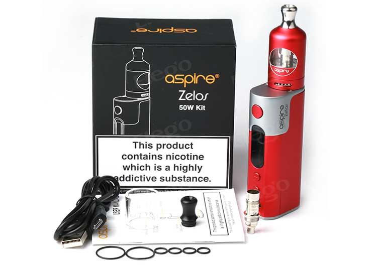 Aspire Zelos 50W Kit