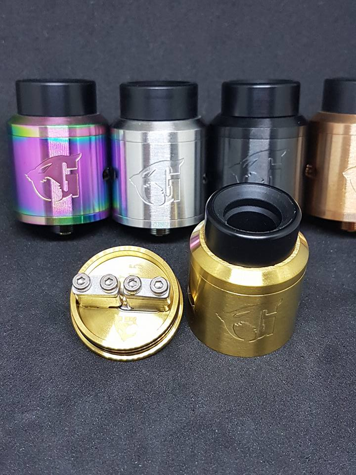 Authentic Goon 1.5 RDA by 528 Customs