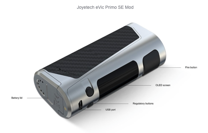 Evic Primo SE Mod and Procore SE Tank by Joyetech