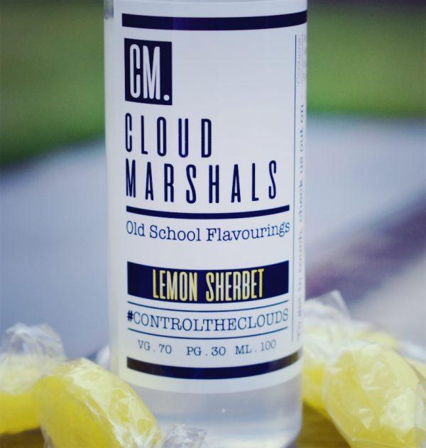 Lemon Sherbet by Cloud Marshalls 100ml 0mg