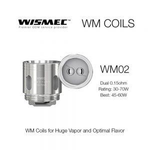 Wismec WM Coils for GNOME Tank