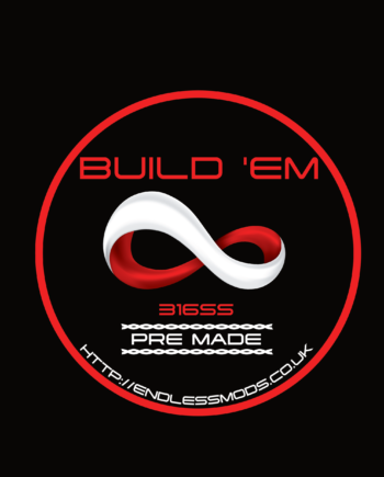 SS 316L Pre Made 10 Foot Spools by Build'EM