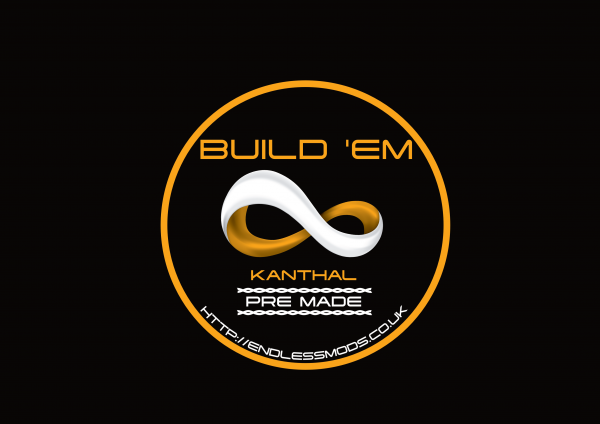 Kanthal Pre Made Spools 10 Foot by Build'EM