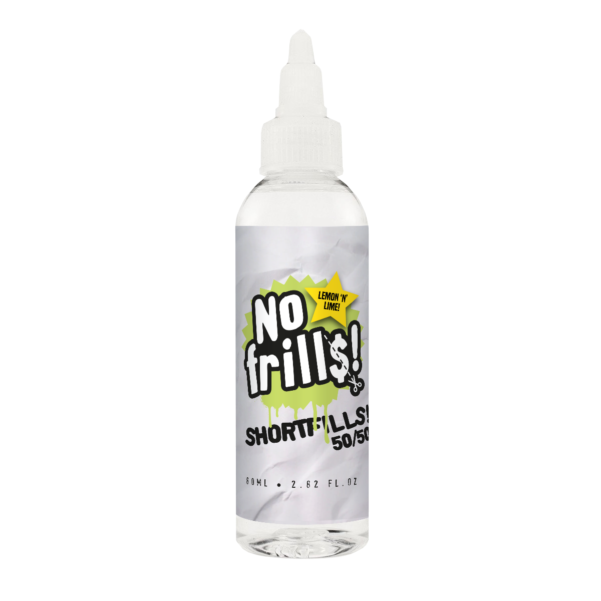 Lemon 'N' Lime 80ml - No Frills Shortfills