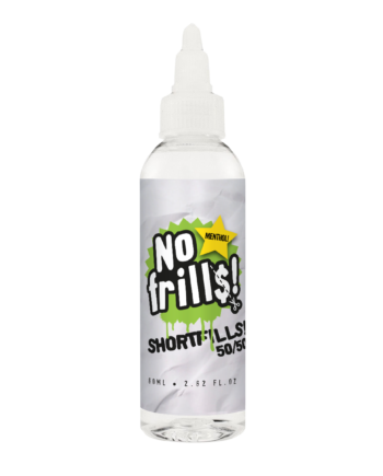 Menthol 80ml - No Frills Shortfills