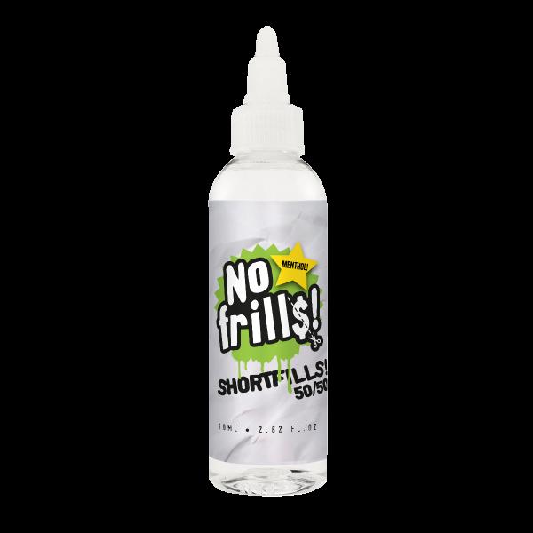Menthol 80ml - No Frills Shortfills