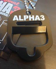 alpha3 bottle opener brand new